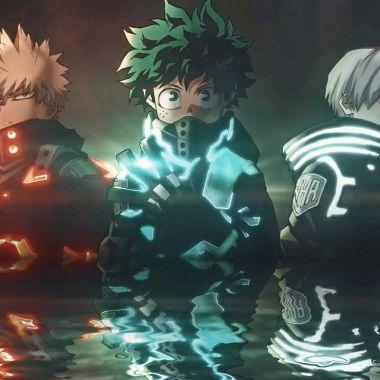 My Hero Academia Cosplay Deku Bakugo Personajes de My Hero Academia