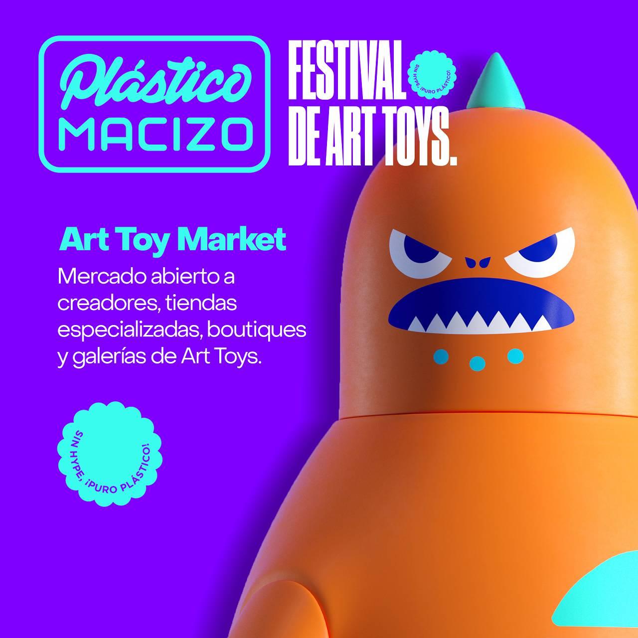 Festival Art Toys Ciudad de México Plástico Macizo