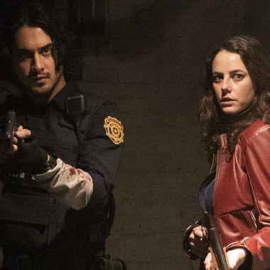 Avan Jogia Leon S. Kennedy Kaya Scodelario Claire Redfield Resident Evil Película