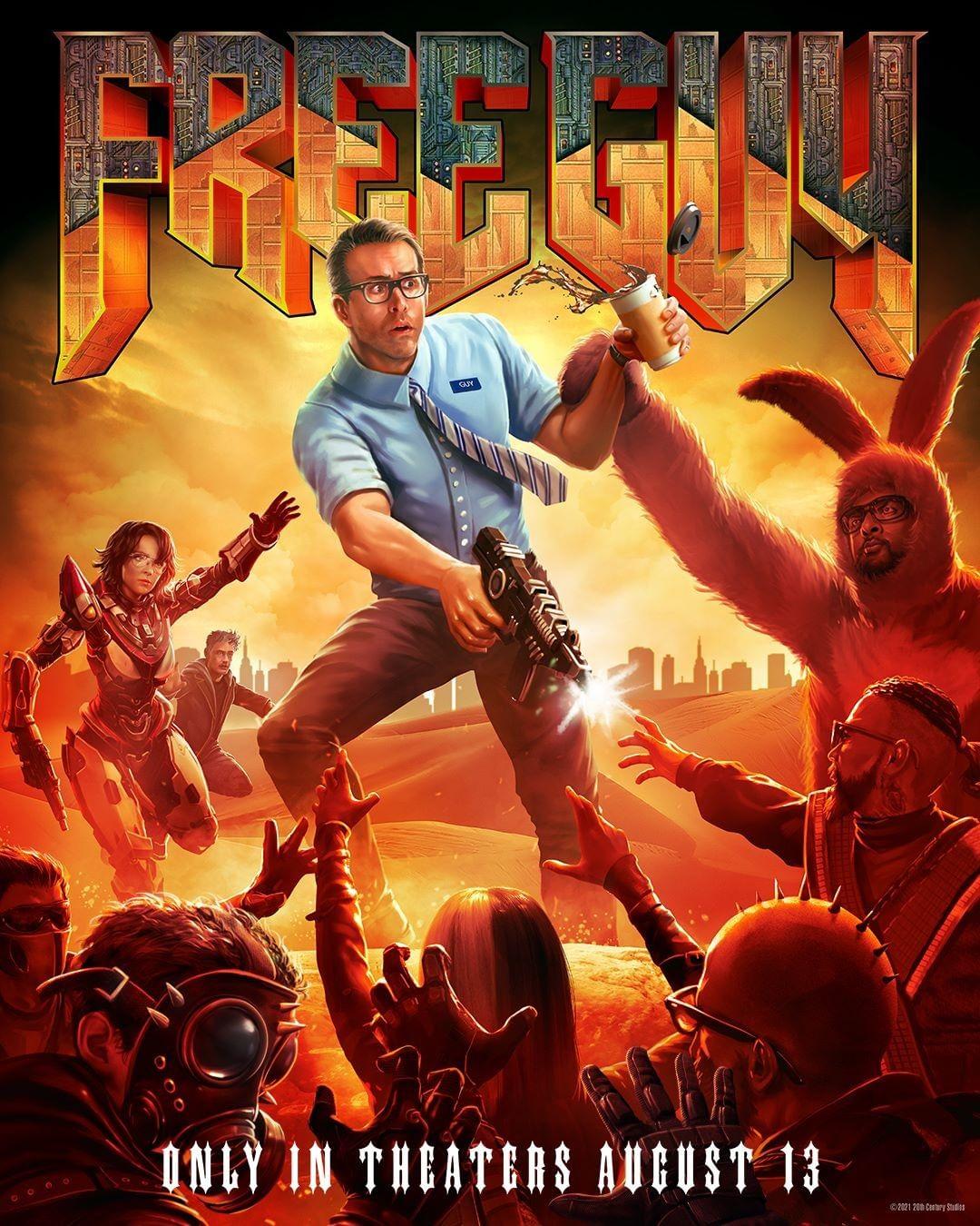 free guy posters videojuegos