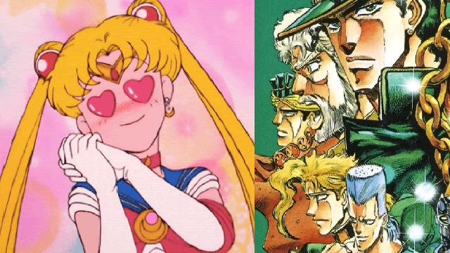 personajes de sailor moon jojo's