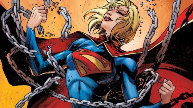 Cosplay Body paint Supergirl DC Comics
