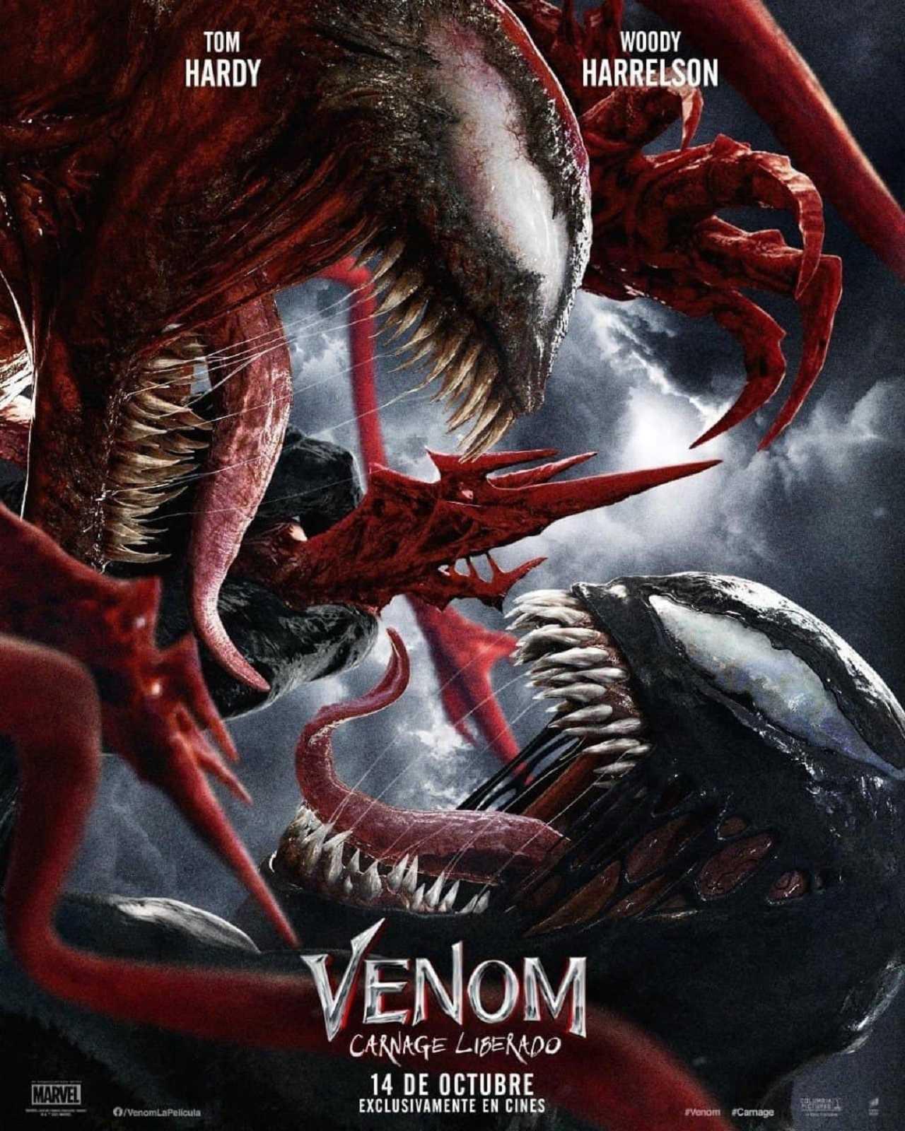 Venom 2 Película Estreno Cines México