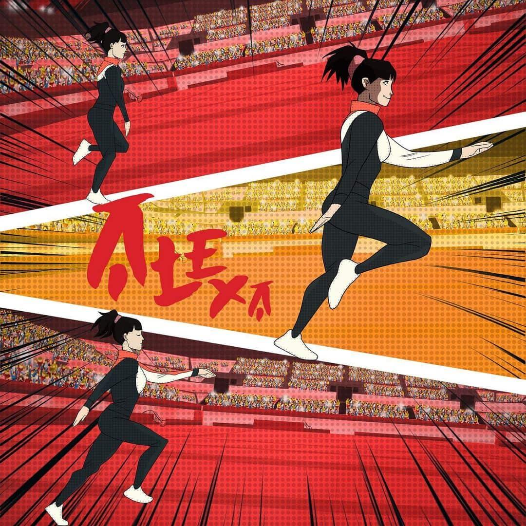 Alexa Moreno gimnasta manga anime