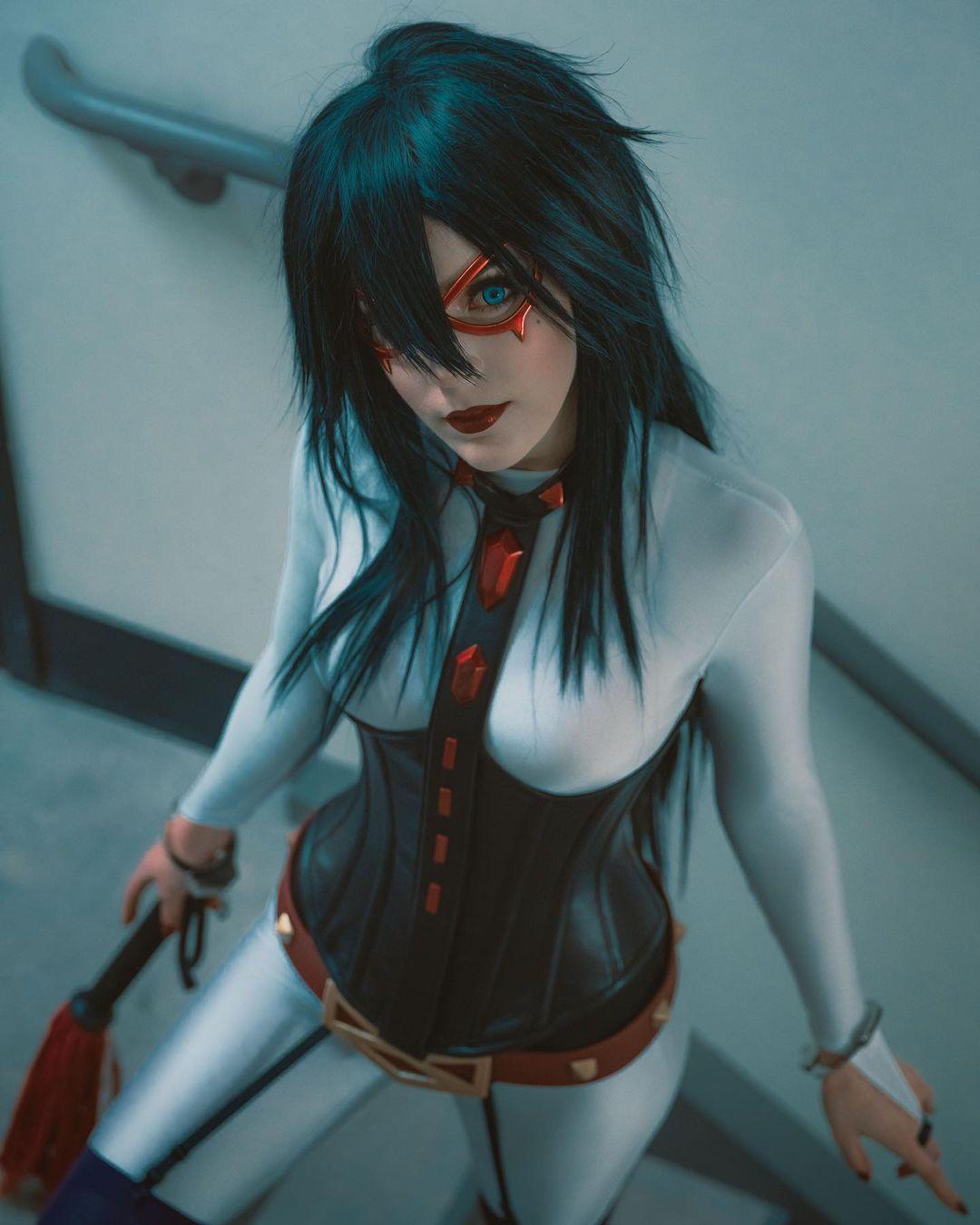 Midnight my hero academia cosplay bloodraven 2