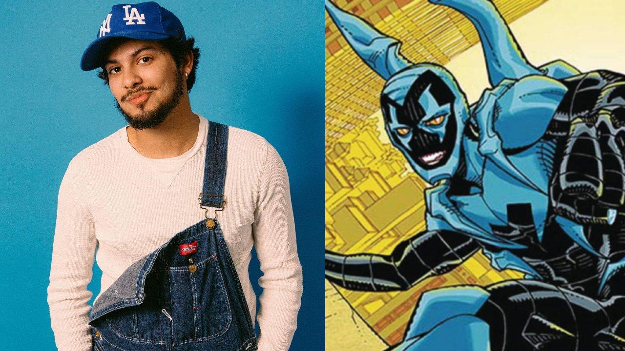 Xolo Maridueña blue Beetle jaime reyes dc