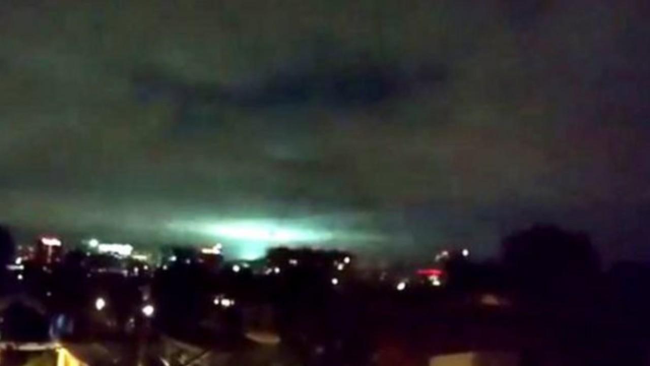 sismo luces en el cielo cdmx temblor mexico