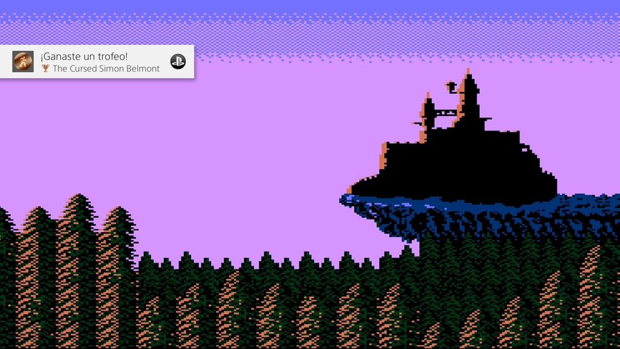 Castlevania pantalla final 1986