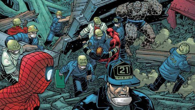 personajes de marvel spider-man