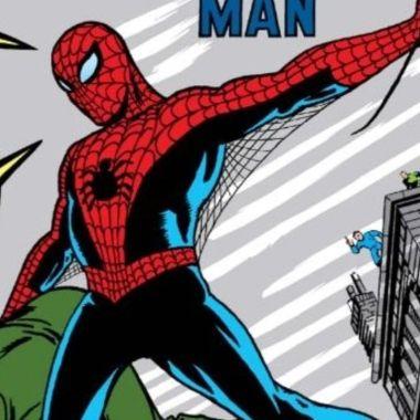Amazing Fantasy comic spiderman subasta primera aparición