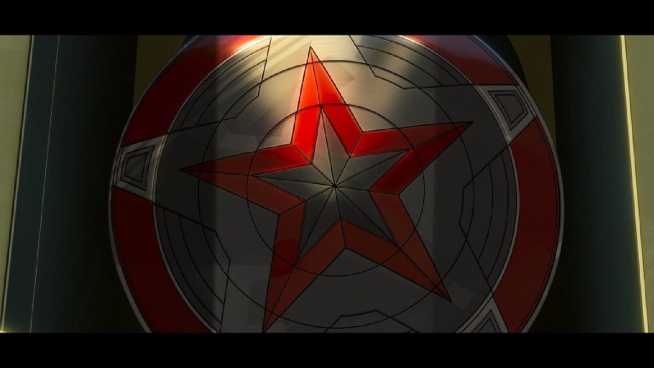 Escudo Red Guardian What If Episodio 8 Easter Eggs Referencias