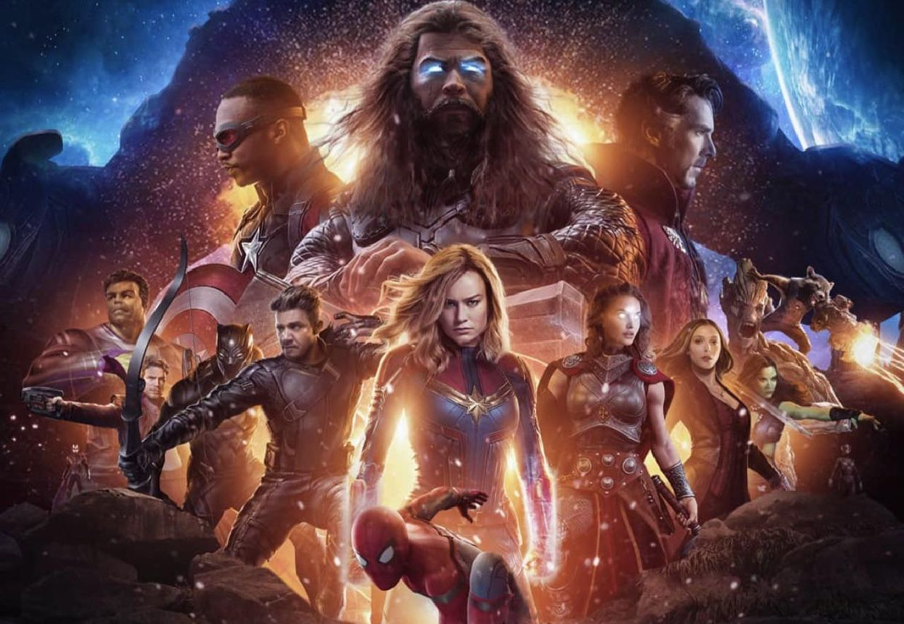 personajes de marvel new avengers