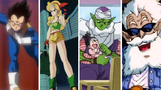 personajes de dragon ball infravalorados