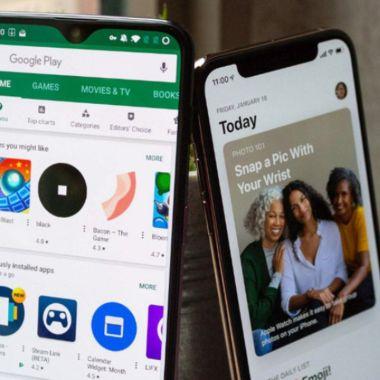 Google Apple tiendas virtuales corea del sur