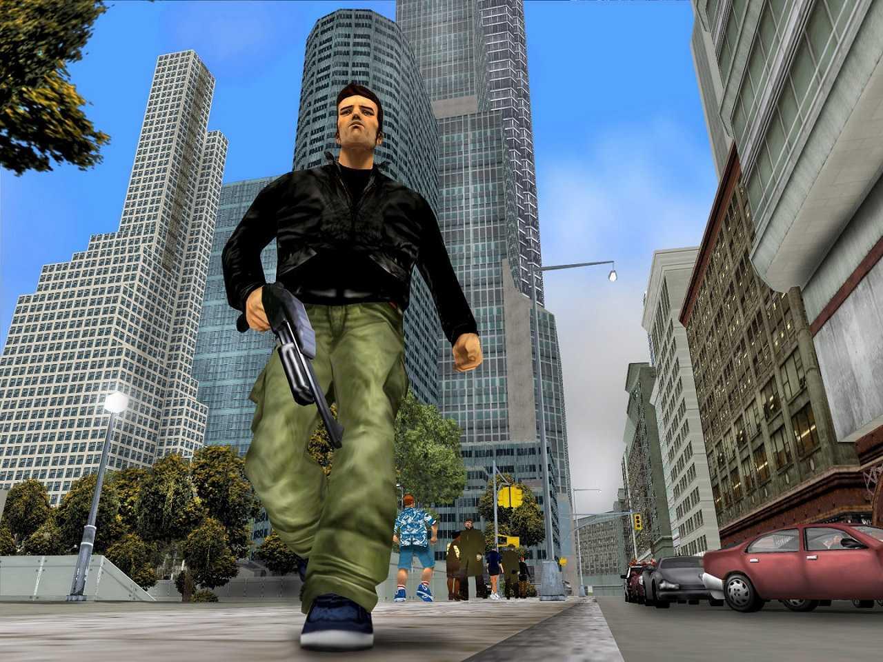 Grand Theft Auto III Torres Gemelas 9 septiembre 2001
