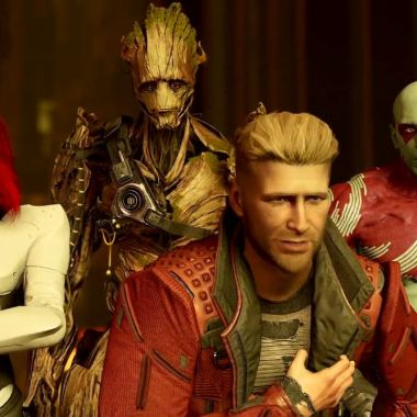 guardians of the galaxy ps4 trailer