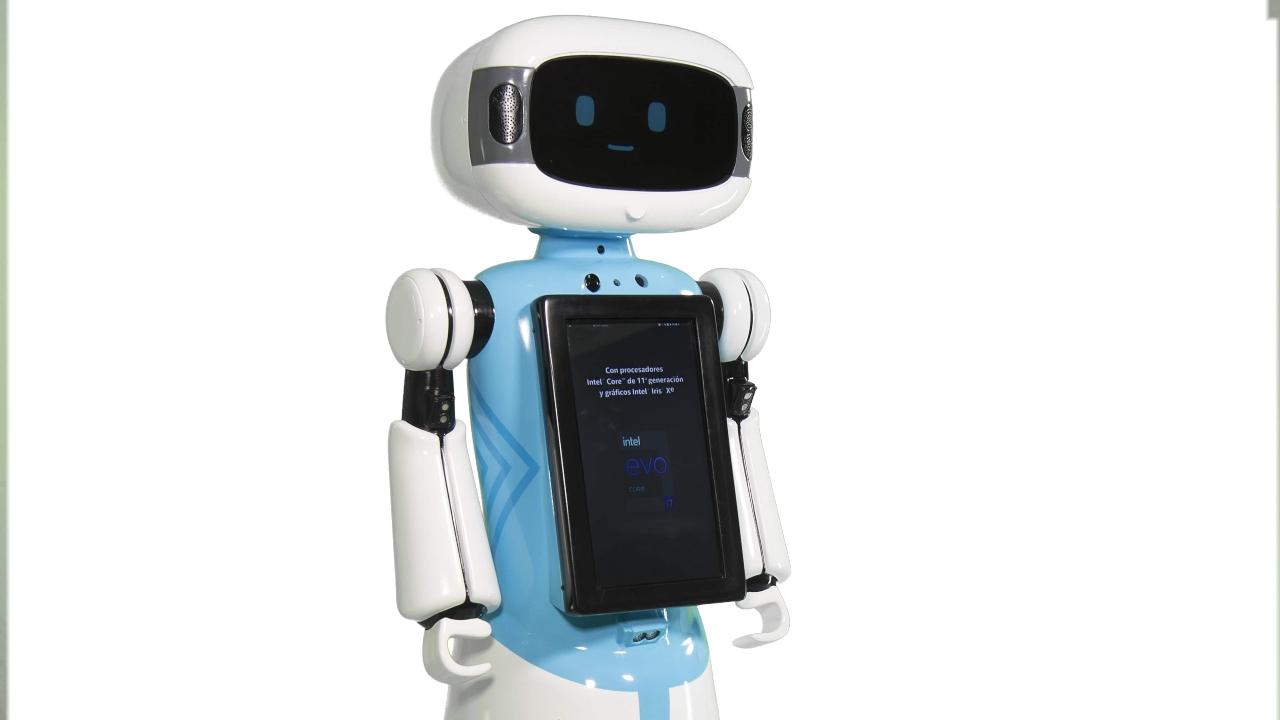 Intel robot ayuda compras consumidores