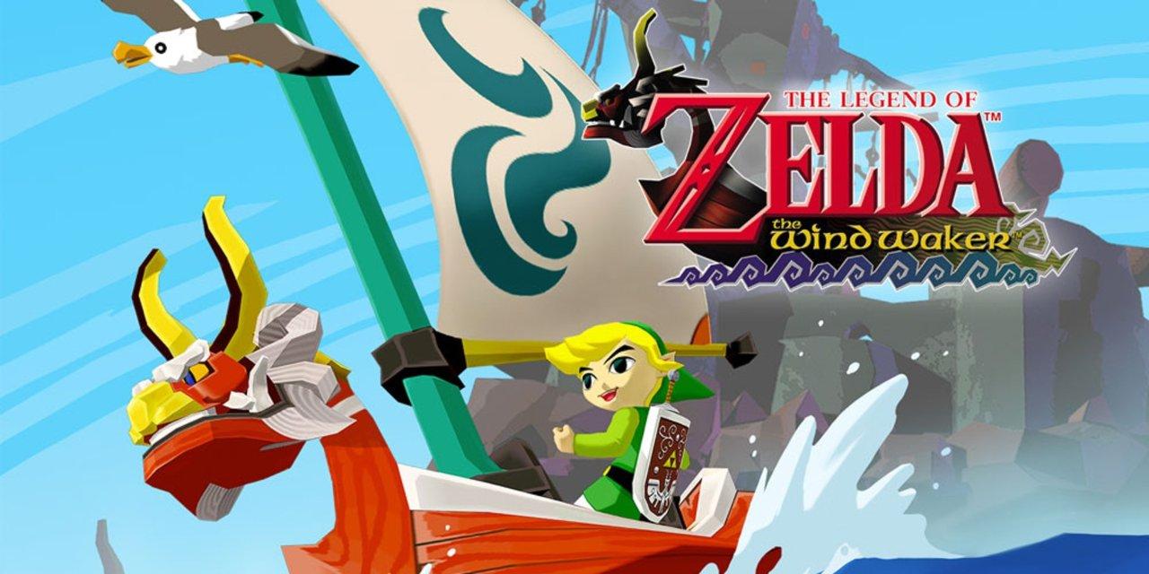 Legend Zelda Wind Waker GameCube