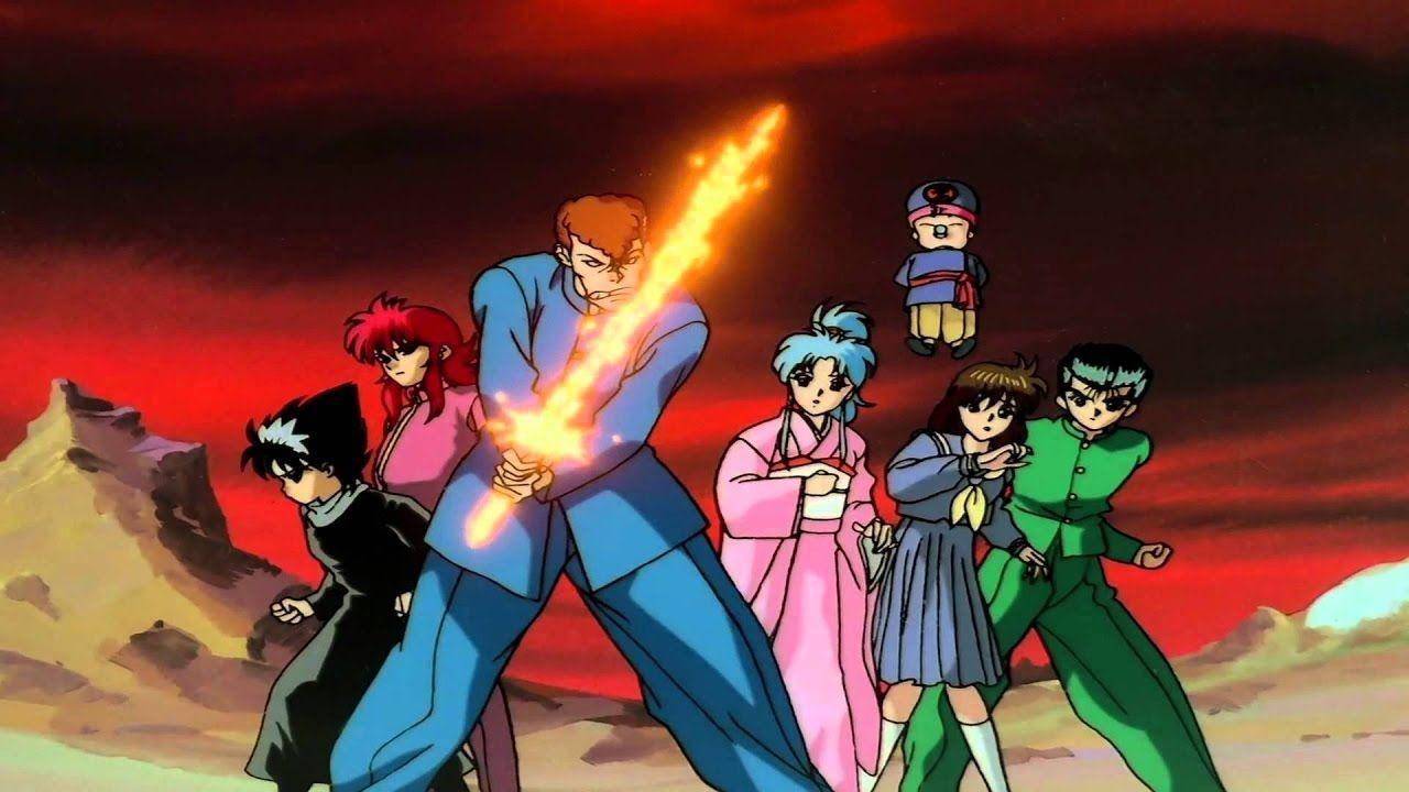 personajes de dragon ball yuyu hakusho