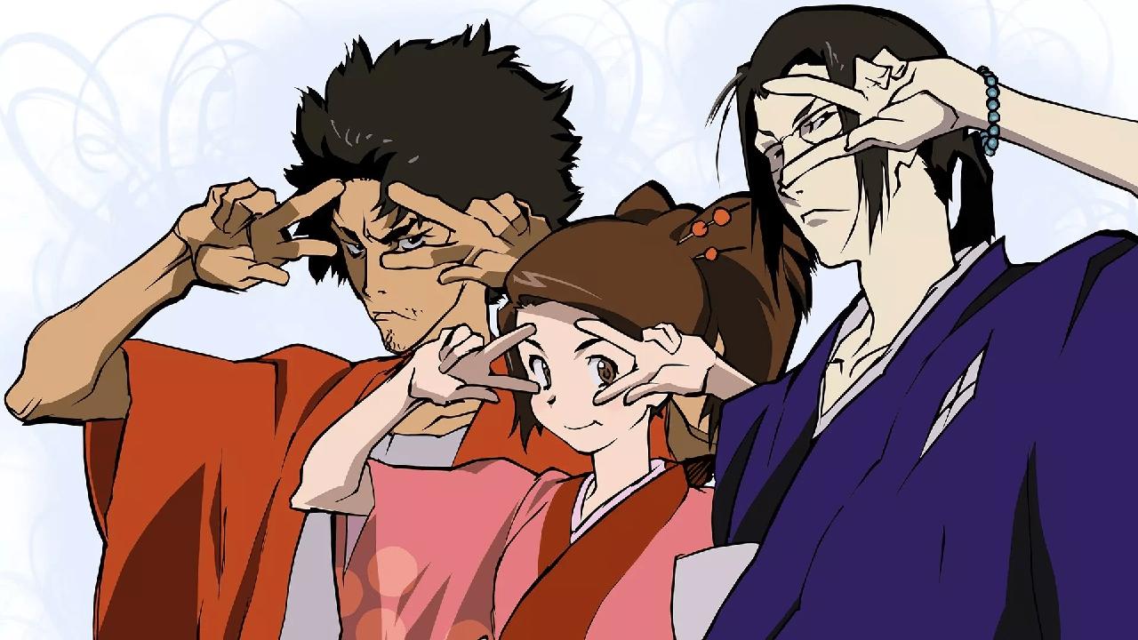 personajes de dragon ball samurai champloo