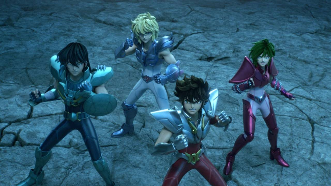 Los Caballeros del Zodiaco Saint Seiya Live-action Toei Animation