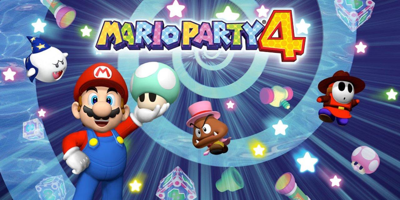 Mario Party 4 Nintendo GameCube