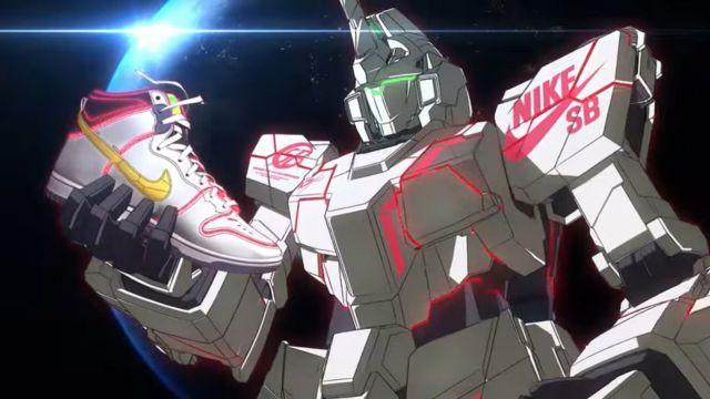 Nike Mobile Suit Gundam Anime