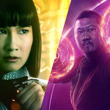 personajes de marvel shang chi escenas post creditos