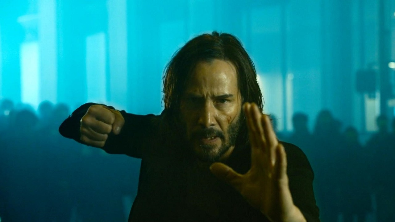 Neo Keanu Reeves The Matrix 4 The Matrix Resurrections