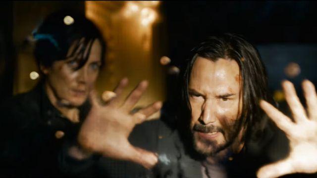 Neo Trinity Keanu Reeves The Matrix Resurrections