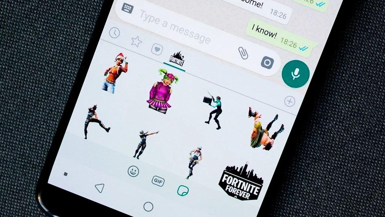 Whatsapp fotos herramienta sticker conversaciones