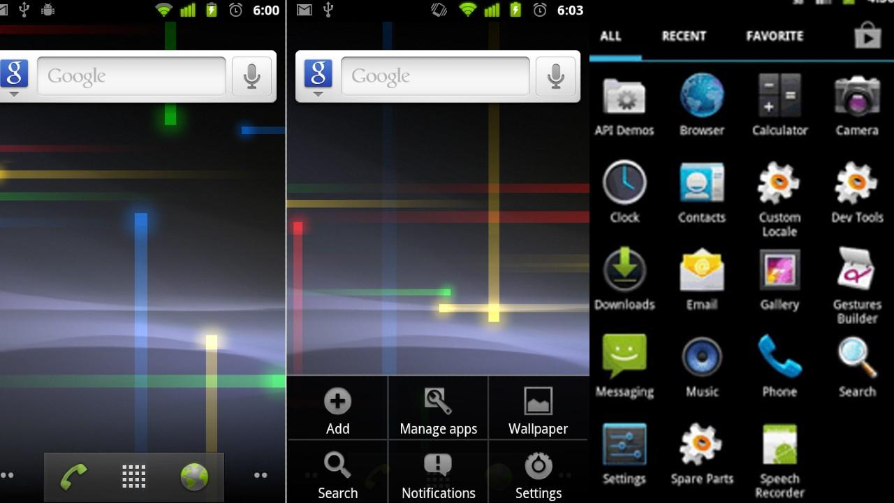 Android gingerbread apagon de internet