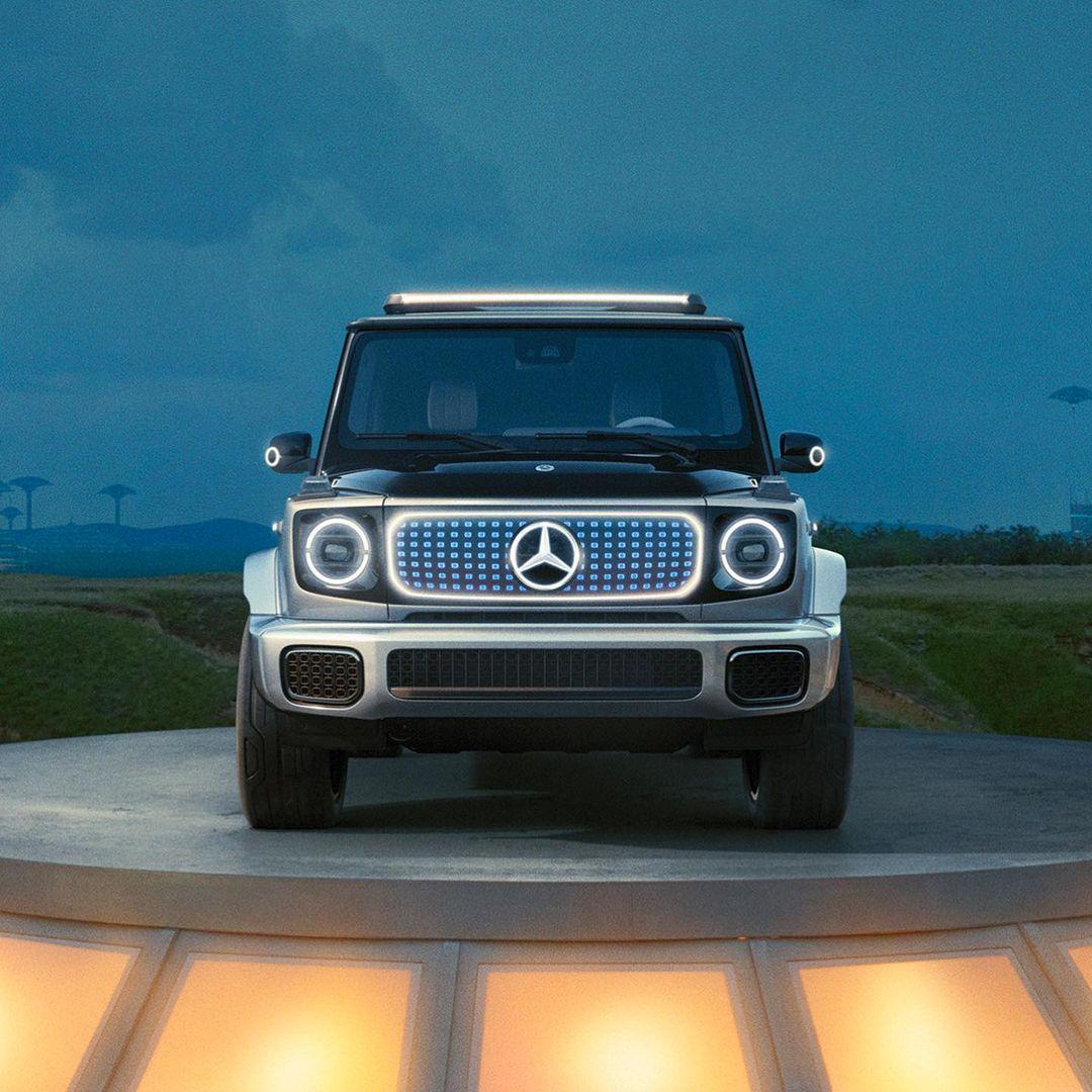Mercedes suv g wagon eectrica