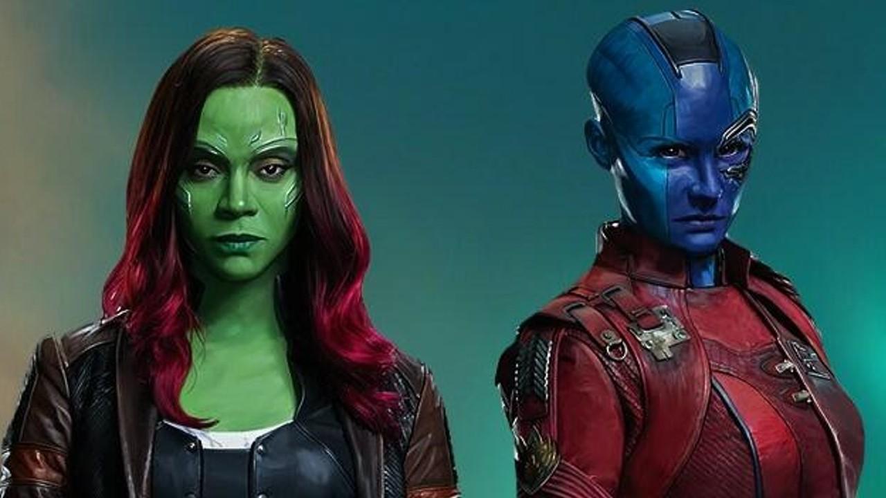 Gamora nebula hermanas thanos