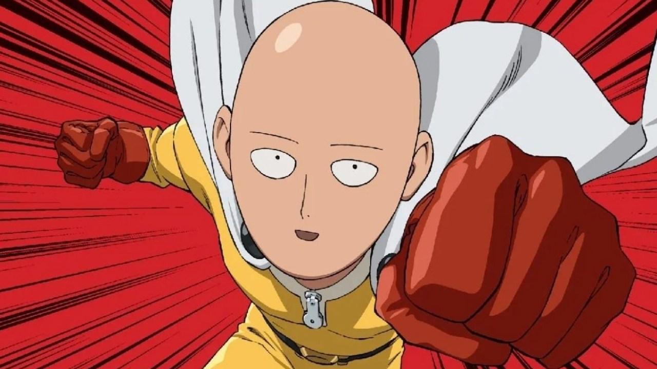 ilustrador One Punch Man corto Saitama