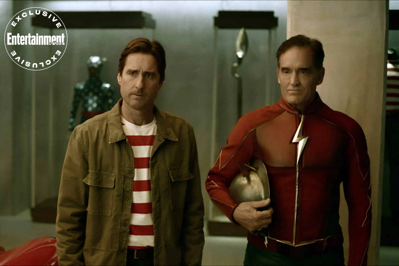 Jay Garrick stargirl crossover serie the flash