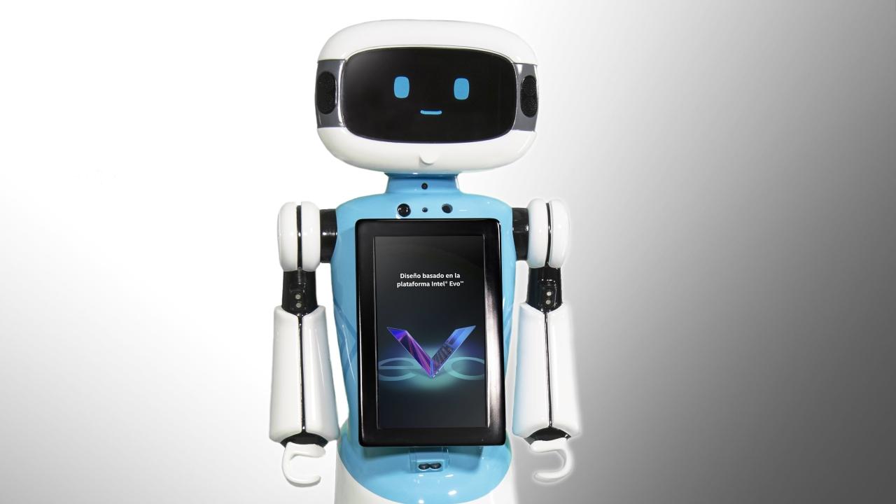 robot Intel México ayuda compras computadora