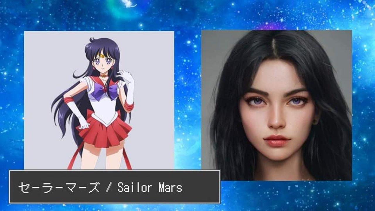 sailor mars persona real ia