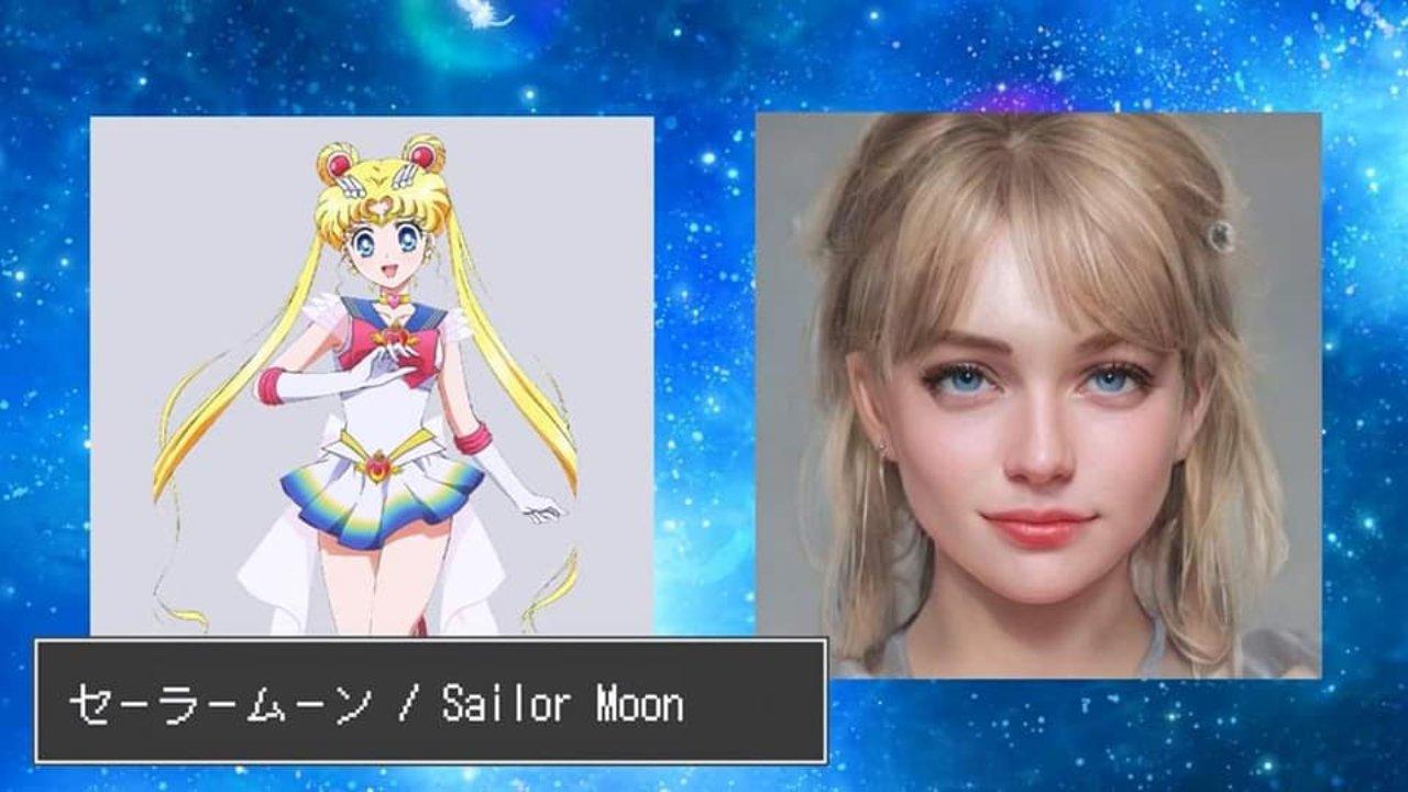 sailor moon persona real ia