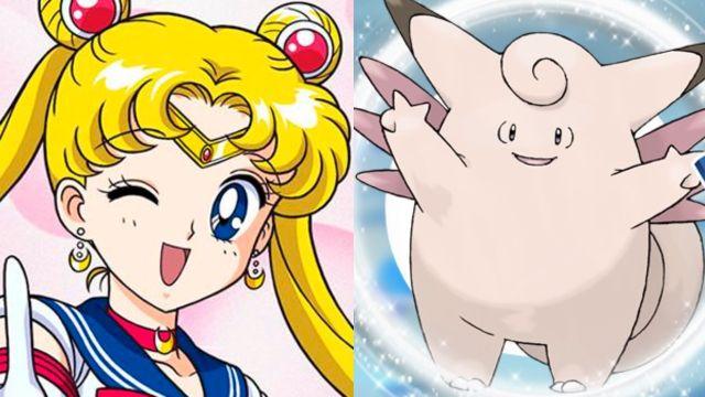sailor moon pokemon entrenadoras crossover
