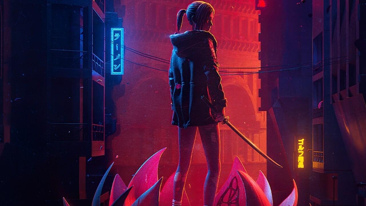 blade runner black lotus nuevo trailer replicante elle