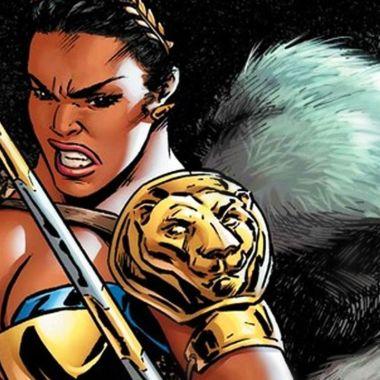 Nubia y las amazonas guerrera transexual bia