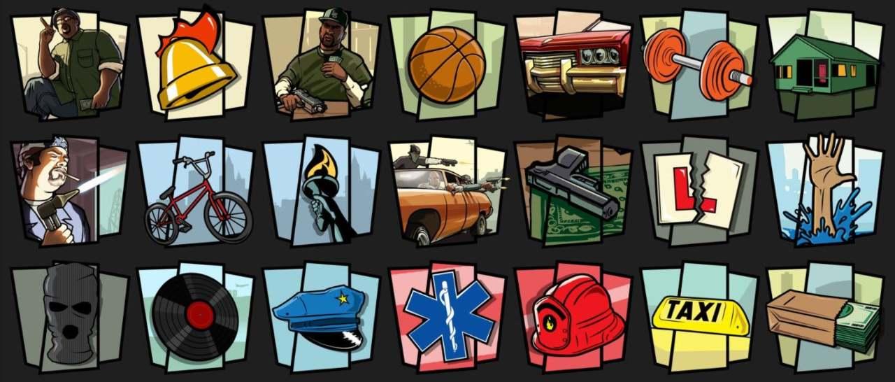 GTA trilogy filtración logos logros