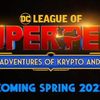 League of superpets pelicula trailer fecha de estreno
