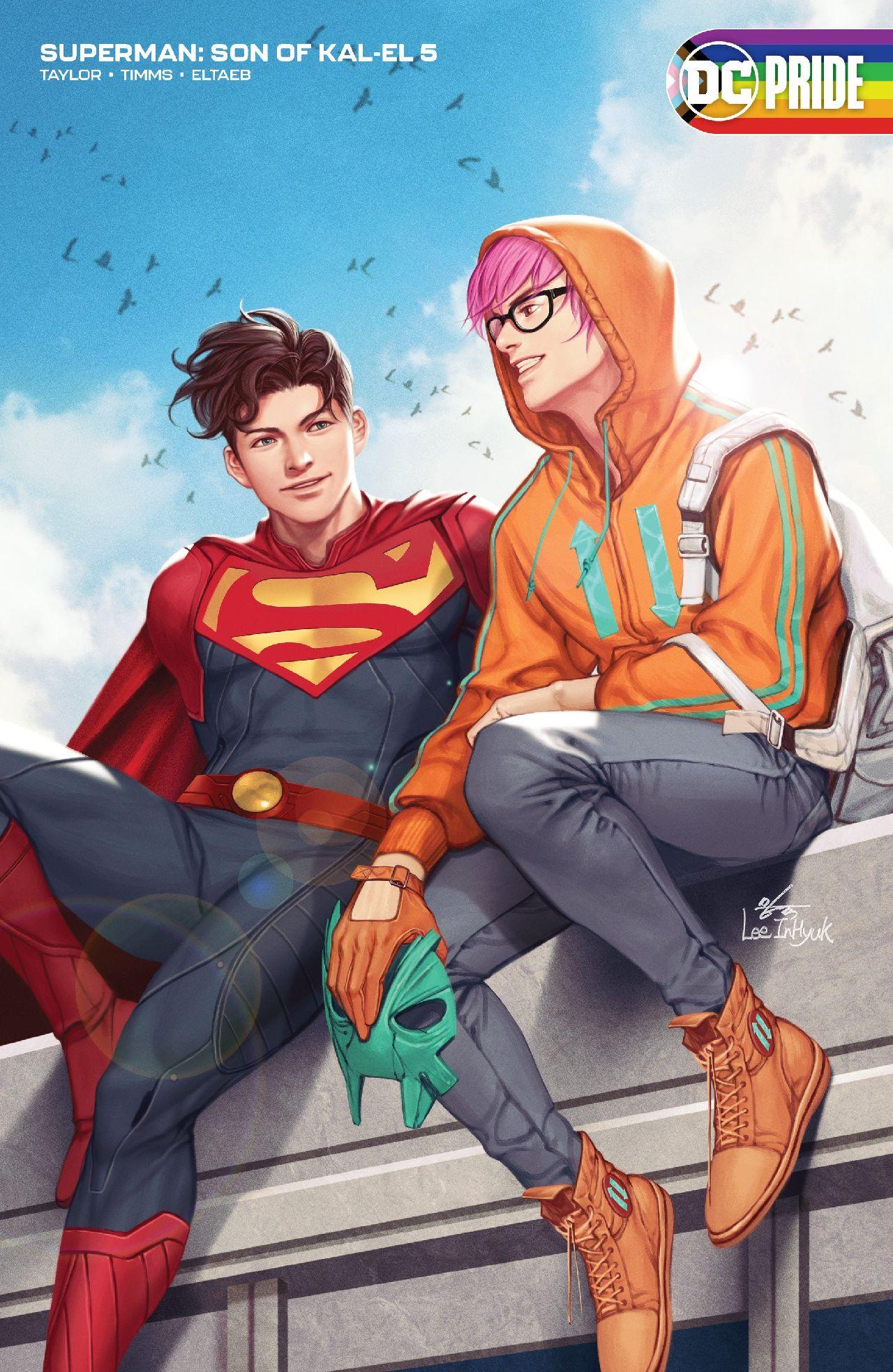 personajes de dc comics superboy