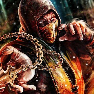 Scorpion Mortal Kombat movimiento