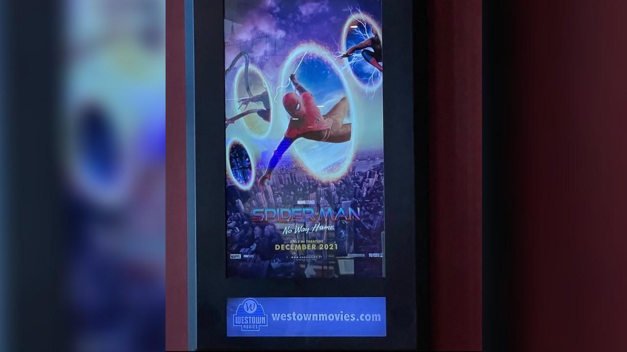 cines posters spiderman no way home spiderverse