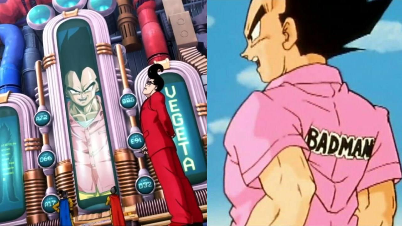 Vegeta badman Dragon Ball Super Super Hero