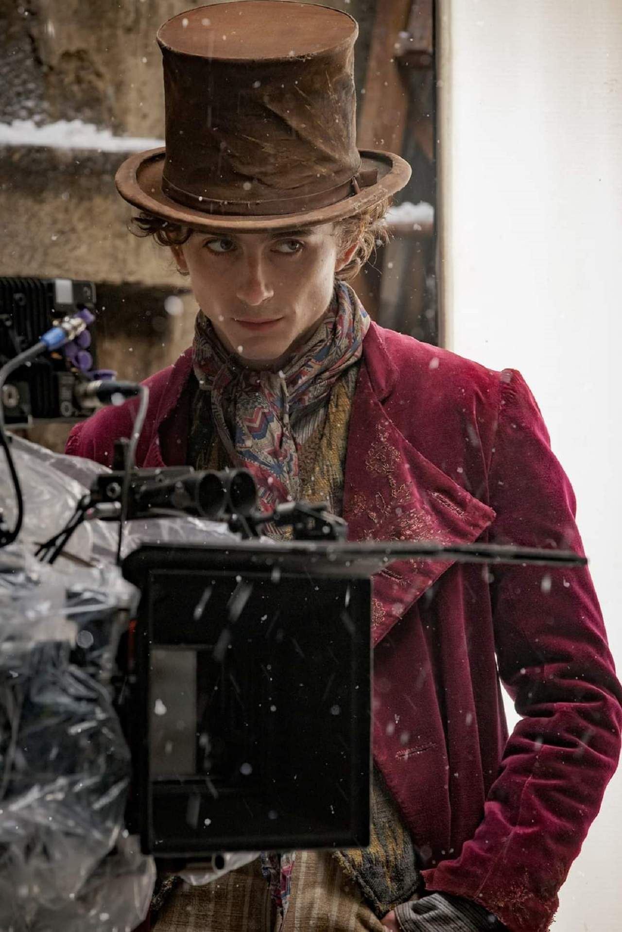 Timothée Chalamet Willy Wonka Película Precuela
