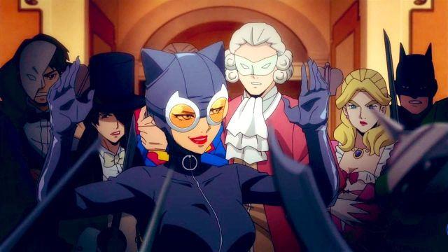 Selina Kyle pelicula anime catwoman hunted dc fandome 2021